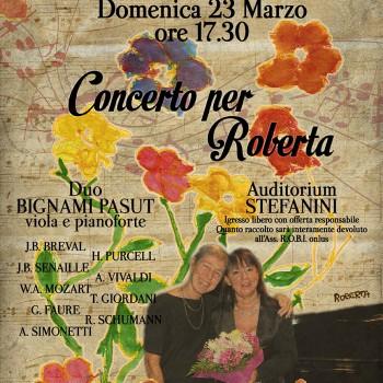 Concerto per Roberta